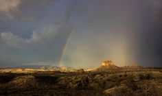 Rainbow over Big Bend National Park by Molly Dumas