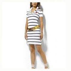 1020 Ralph Lauren Mujer Algodón Vestido de Blanco   Negro Ralph Luaren, Polo  Ralph Lauren 7c7bae105444
