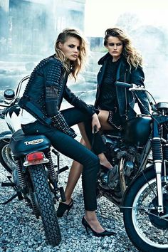 Rock Style - leather and motorcycles