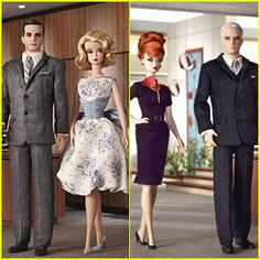 'Mad Men' Gets Barbie Doll Treatment: Is it too early to start my Christmas Wish List?