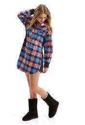 Cowgirl Flannelette Nightshirt