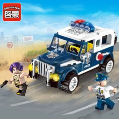 Gifts For Boys, Toys For Boys, Kids Toys, Swat Police, Stacking Blocks, Building Blocks Toys, Model Building, Toy Sale, Jeep