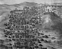 "Timbuktu - Wikipedia, the free  encyclopedia  ""Timbuktu looking west, René Caillié (1830)"""