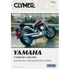 42 best motorcycle repair manuals images on pinterest repair yamaha v star 650 manual color wiring diagrams clymer motorcycle repair manuals are written specifically for the do it yourself enthusiast fandeluxe Images