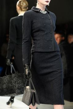 20 trendy and edgy work outfits for winter 2019 - Winter Outfits Office Fashion, Work Fashion, High Fashion, Fashion Show, Color Fashion, Suit Fashion, Modest Fashion, Couture Fashion, Fashion Clothes