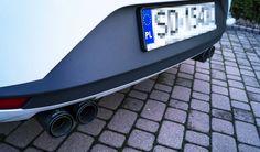 Przedstawiamy kolejną, drobną realizację. W styczniu wyposażyliśmy nowego Seata Leona FR w sportowy tłumik tylny z czterema końcówkami oraz Powerizer dodający jeszcze więcej mocy. Zobaczcie jak się prezentuje po modyfikacjach!  Więcej informacji na naszym blogu: http://gransport.pl/blog/realizacja-seat-leon-fr-remus/  GranSport - Luxury Tuning & Concierge http://gransport.pl/index.php/