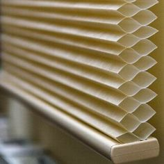 Cellular shades are the most energy-efficient blinds for your home. Mama Making Changes: The Friendliest Window Coverings Honeycomb Blinds, Honeycomb Shades, Energy Efficient Windows, Energy Efficiency, Window Coverings, Window Treatments, Cellular Shades, Cellular Blinds, Energy Saving Tips