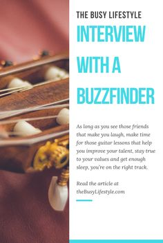 Interview with a Buzzfinder - About problem solving, creativity and having fun.