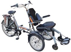 Wheelchair bike OPair3