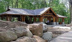 Stone Pavilion Landscape Architecture Although early around idea, the actual pergola continues to be enduring Wooden Pavilion, Glass Pavilion, Backyard Pavilion, Outdoor Pavilion, Pavilion Wedding, Garden Gazebo, Outdoor Sheds, Outdoor Rooms, Outdoor Living