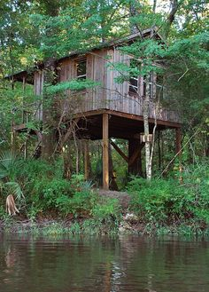 This one is for you LeeAnne!  It is located in S.C Edisto River Treehouses- St. George, SC