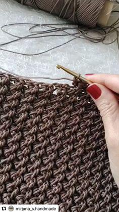 Post Malone, Crochet Videos, Beauty Hacks, Hair Styles, Pattern, Crafts, Bags, Circles, Design