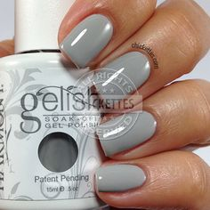 Gelish Cashmere Kind of Gal swatch by Chickettes.com #gelish