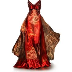 THE Girl on Fire gown (in my mind) by G.Hobeika // I would be the happiest girl alive if I somehow by magic was able to get this dress!