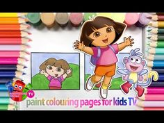 Dora la exploradora paso a paso -Dora la exploradora| How to draw Dora la exploradora.