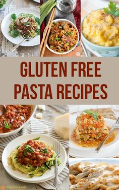 25 of the best gluten-free pasta recipes