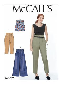 M7726 | McCall's Patterns | Sewing Patterns