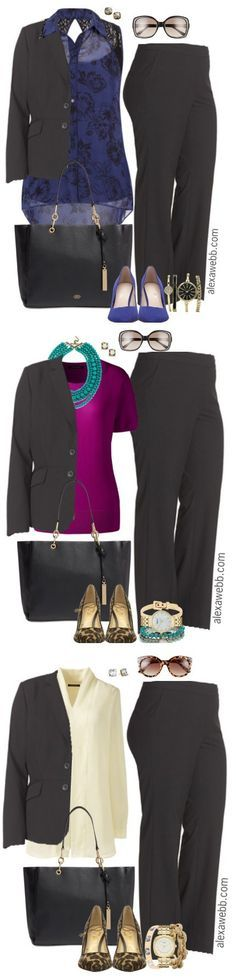 Plus Size Professional Looks - Plus Size Work Outfits - alexawebb.com