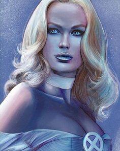 Emma Frost, Cosmic Comics, Marvel Comics Art, Marvel Heroes, Captain Marvel, Captain America, X Men, Spiderman Girl, Comic Room