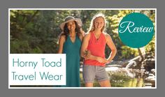 Make Every Day An Adventure with Horny Toad Travel Wear