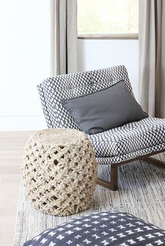 Lawson-Fenning Griffin Chair in the 2014 Sunset Idea House. Interior Design by DISC Interiors.