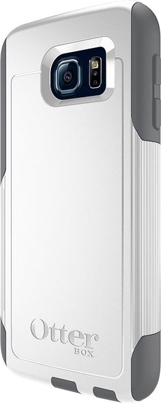 OtterBox COMMUTER SERIES for Samsung Galaxy S6 - Glacier (White/Gunmetal Grey)