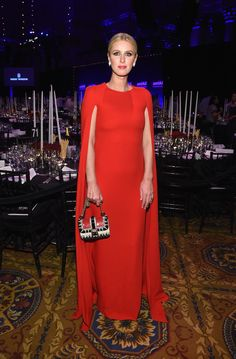Nicky Hilton attends the 2015 amfAR New York Gala at Cipriani Wall Street on February 11, 2015 in New York City.