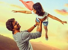 #Theri - New Poster | #EenaMeenaTeeka #Audio  from March 20th.  Guess we will see cute bonding of #dad #daughter!   #TheriAudioLaunch #TheriNewPoster