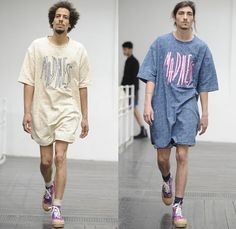Julien David 2014 Spring Summer Mens Runway Collection - Mode A Paris Masculine Printemps Été 2014 Homme France Catwalk Fashion Show: Designer Denim Jeans Fashion: Season Collections, Runways, Lookbooks and Linesheets