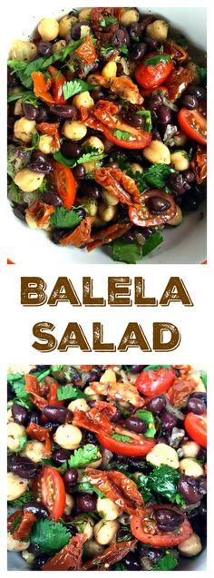 Gluten-Free, Vegetarian, Vegan--Game Day Balela Salad