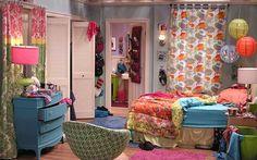O Apartamento da Penny (Kaley Cuoco) de The Big Bang Theory Big Bang Theory Penny, Bedroom Color Schemes, Bedroom Colors, Bedroom Decor, Bedroom Ideas, Bedroom Wall, Girl Room, My Room, Sims