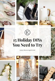 15 Holiday DIYs You Need to Try | The Everygirl