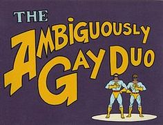 Ambiguously Gay Duo : TV Funhouse Animation