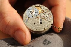 Our manufacture movement with its patented large date mechanism in assembly. Pocket Watch, Watches, Accessories, Wrist Watches, Tag Watches, Watch, Pocket Watches