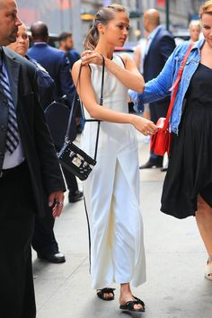 Lady Gaga Styles this Suit Perfectly
