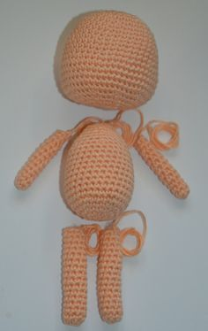 Amigurumi Lessons – Creating simple doll