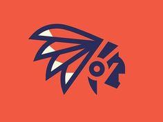 This best logo design of the week selection contains logos designed by Sergey Shapiro, George Bokhua, Evan Stremke, Double A Creative and Paulo Bretas. Typography Logo, Typography Design, Branding Design, American Logo, Native American, American Modern, Logo Luxury, Logo Minimalista, Great Logos