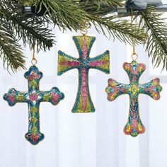 Cloisonne Crosses, Expressions