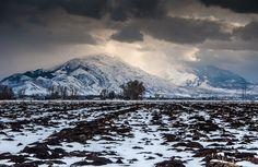 Gathering Winter Storm - Utah Valley