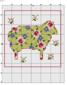 Embroidery patterns on any topic - Sheep Cross Stitch, Cross Stitch Cards, Cross Stitch Animals, Cross Stitching, Cross Stitch Embroidery, Embroidery Patterns, Cross Stitch Designs, Cross Stitch Patterns, Sheep Crafts