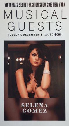 Selena Gomez - VS Victoria's Secret Fashion Show vsfs 2015 musical guests