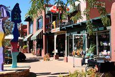 Sedona, Arizona main street- lots of cute shops and galleries. Scottsdale Arizona, Sedona Arizona, Sedona Things To Do, Sedona Shopping, Grand Canyon Vacation, Surprise Az, The Good Place, Perfect Place, Places Ive Been