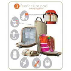 Τσάντα αλλαξιέρα Pacapod Hastings Driftwood