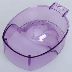 $2.47 Comfortable Nail Bubble Hand Bowl - Lavender