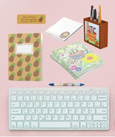 Everything you need for your office can be found right here . © ArianeC Illustrations