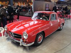 Mercedes 190 SL at 2014 Retromobile, Paris