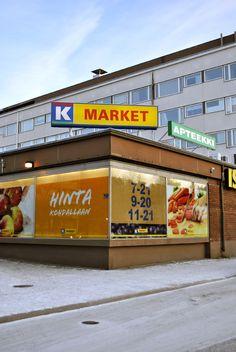 K-kauppa Ostoskeskus Ispoinen Turku