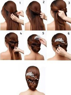 Bridal #Hairdo #Tutorial how to