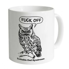Irritable Owl Syndrome Mug
