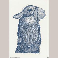 Addison Karl - Llama One (limitierte Auflage von handgemachten Siebdrucken)
